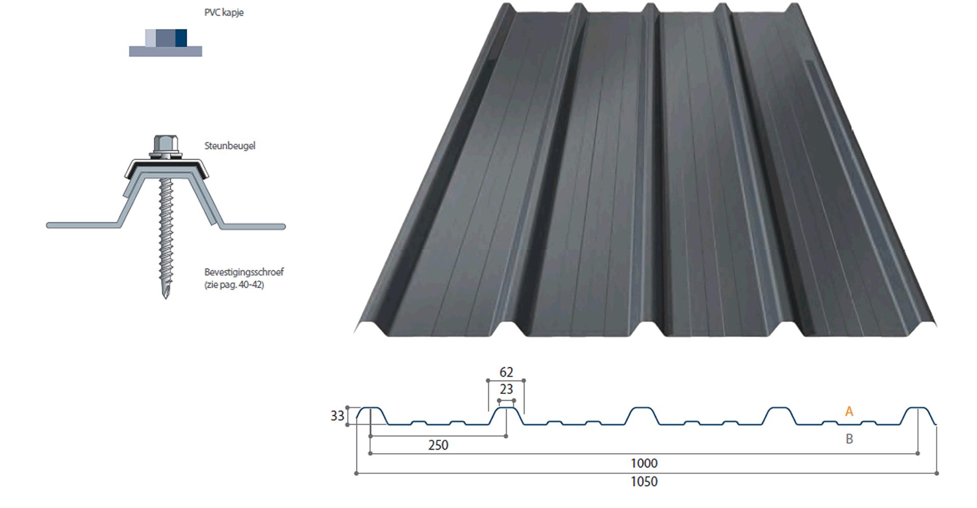 Enkelwandige dakplaten kopen
